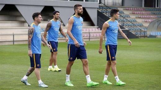 El Barça arranca en la Champions contra la Roma: Piqué entrará por Vermaelen, de nuevo lesionado