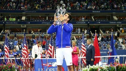 Djokovic, exultante tras su segundo US Open: