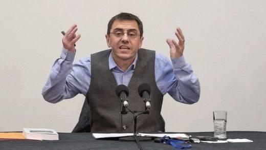Monedero acusa al líder opositor Leopoldo López de llamar a la