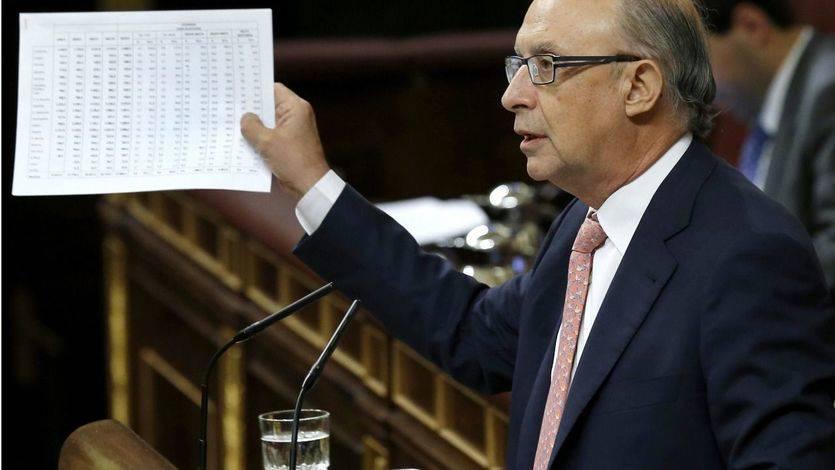 El ariete del Gobierno recuerda a Cataluña que se ahorrará 1.026 millones en 2016 sólo por formar parte de España