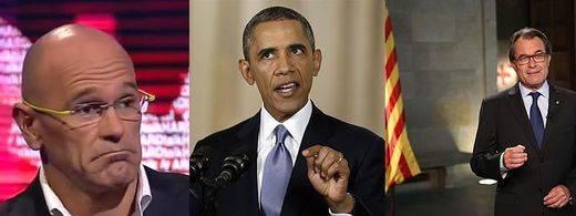 Obama es sólo otro fiasco a sumar a los intereses independentistas catalanes
