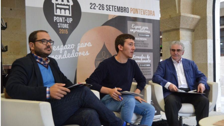 PONT-UP STORE reúne en Pontevedra a 44 promesas del mundo emprendedor