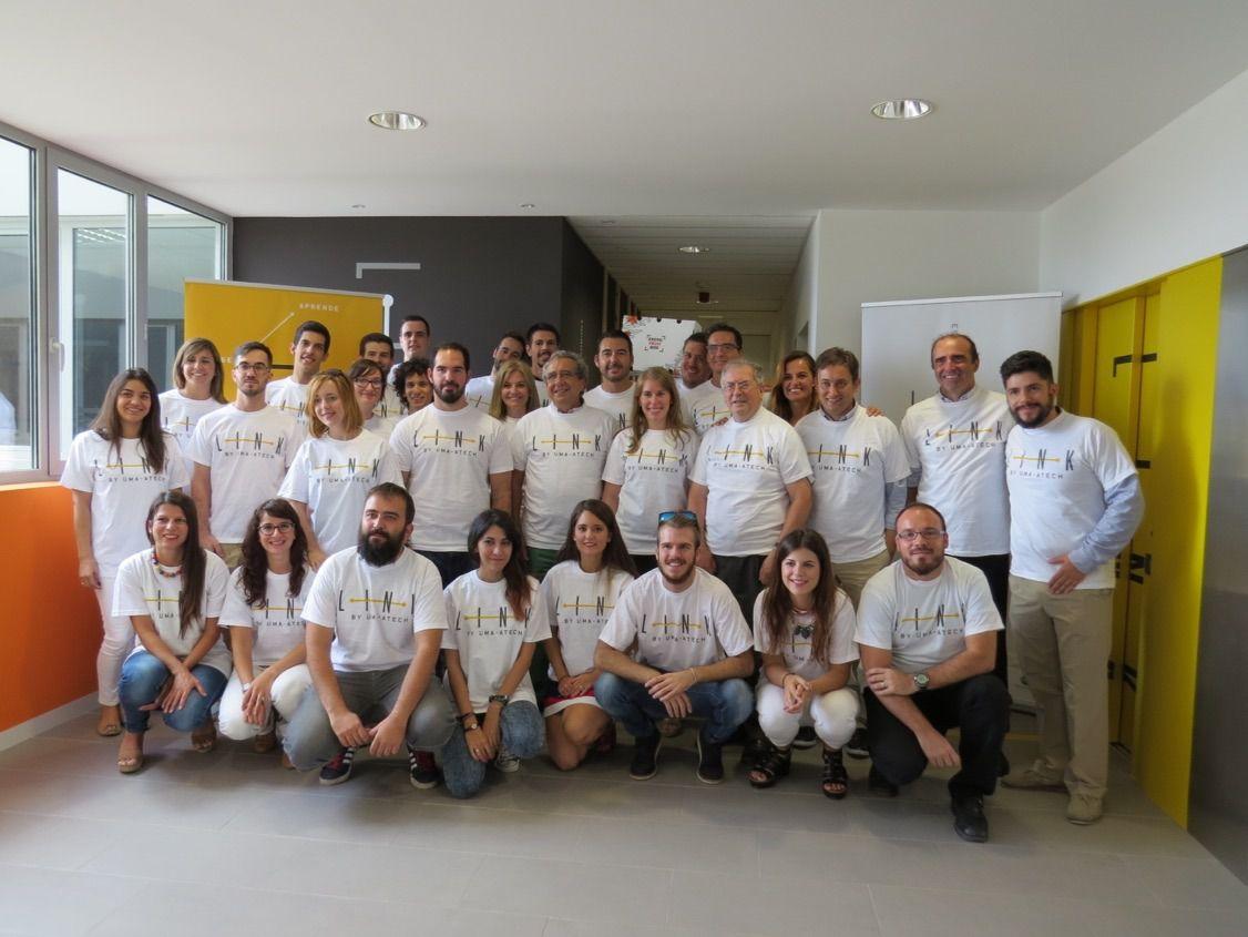 Inauguran 10 oficinas para incubar proyectos empresariales en el espacio Link By UMA-Atech