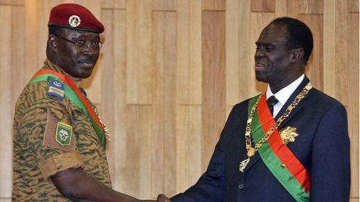 Los golpistas liberan al presidente de Burkina Faso