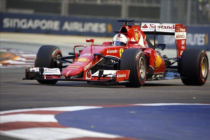 Vettel sorprende y saldrá desde la 'pole' en Singapur