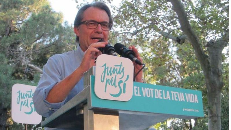 Artur Mas, el indígena que acusa a España de tratar a Cataluña como 'una reserva'