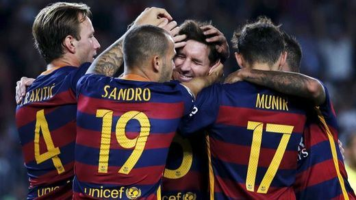 El Barça no flojea y sigue líder con un gran Messi ante el Levante (4-1)