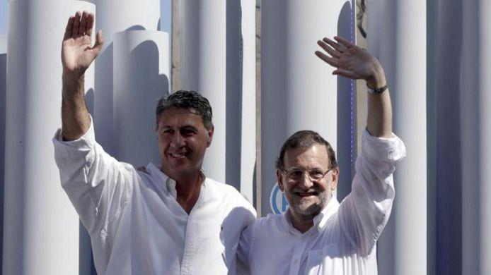 Rajoy acusa a Mas de 'envenenar la convivencia' de los catalanes