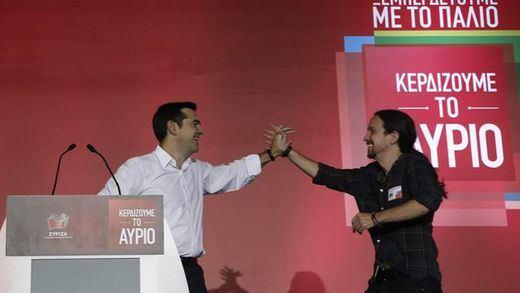Podemos espera que la victoria de Tsipras sirva para acabar con