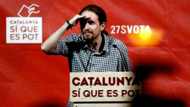 Iglesias replica a Mas en 'indio': 'Coleta morada no entender pequeño Pujol votar reforma laboral con gran jefe plasma'
