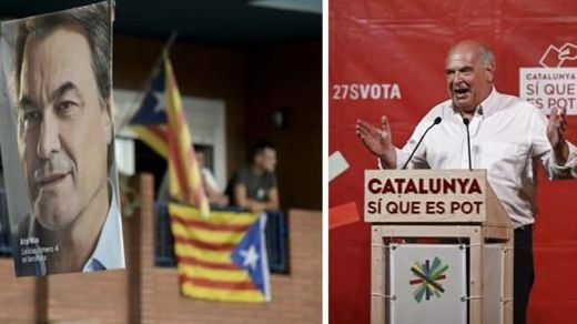 La 'teoría de la conspiración independentista': el bloque de Podemos apoyaría la lista de Mas