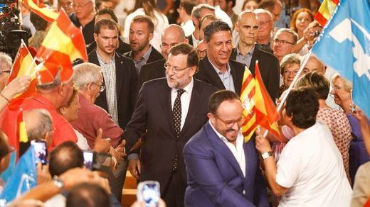 Rajoy aclara su propia confusión sobre la nacionalidad que tendrían los catalanes