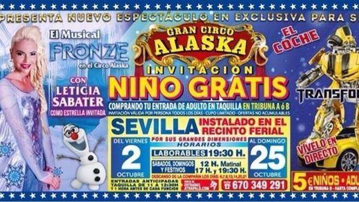 Leticia Sabater será Elsa en el musical Fronze, basado en la película 'Frozen'