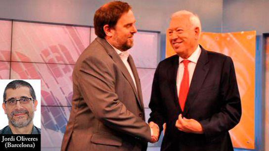 Margallo: 'El que manda es Oriol' (Junqueras, por supuesto)