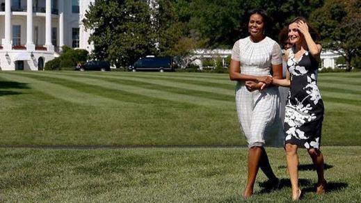 La Reina Letizia y Michelle Obama afianzan su amistad y queda pendiente una invitación a Mallorca