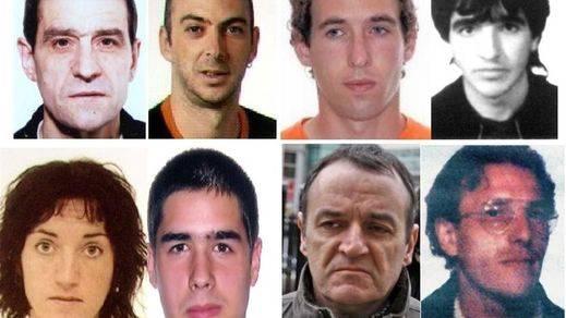 Los rostros de los 'lobos solitarios' de ETA: los más buscados entre sus 'supervivientes'