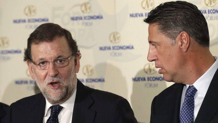 Rajoy 'aclara' el tema catalán: 'Un vaso es un vaso y un plato es un plato'