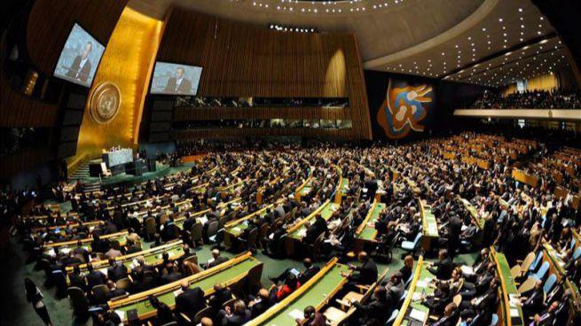 En Nueva York, la ONU espera expectante la intervenci�n del Pont�fice en una cumbre hist�rica