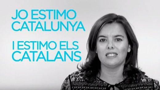La cúpula del PP se lanza a hablar catalán en un último mensaje de