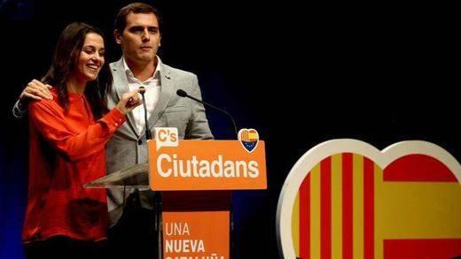 """Rivera: """"No hay nada más español que Ciudadanos en Cataluña"""""""