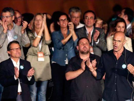 Artur Mas promete ante 70.000 personas 'prosperidad, dignidad y libertad' para una Cataluña independiente