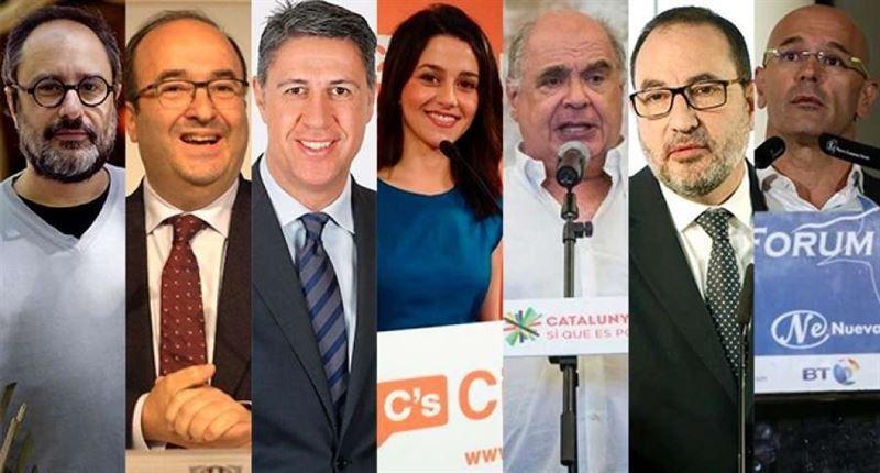 Las reflexiones de los candidatos a la Generalitat de Cataluña