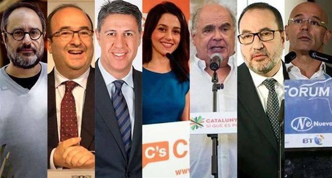 Más de 5,5 millones de responsables del futuro de Cataluña