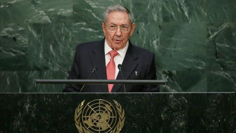 Castro dice que el embargo es el principal obstáculo para el desarrollo de Cuba