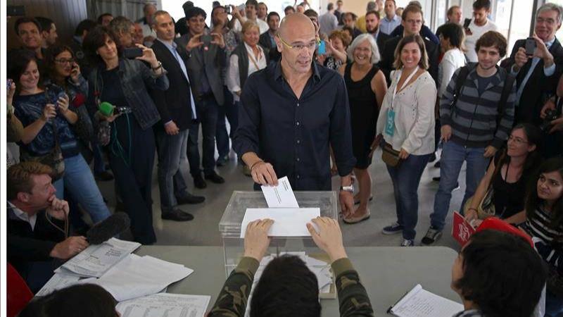 Romeva exige que se respete el resultado de las elecciones, 'sea el que sea'