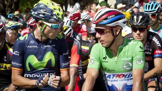Ni Valverde ni Purito: Sagan se enfunda el maillot arcoiris