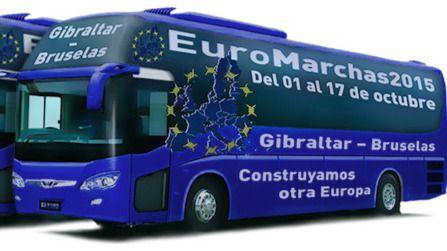 Protesta y exigencia de una Europa más social: comienzan las 'Euromarchas 2015'