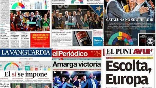Interpretaciones para todos los gustos en la prensa: ¿Artur Mas gana? ¿Artur Mas pierde?...