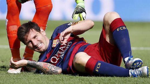 El médico de Argentina promete el milagro de recuperar a Messi en menos tiempo del previsto por el Barça