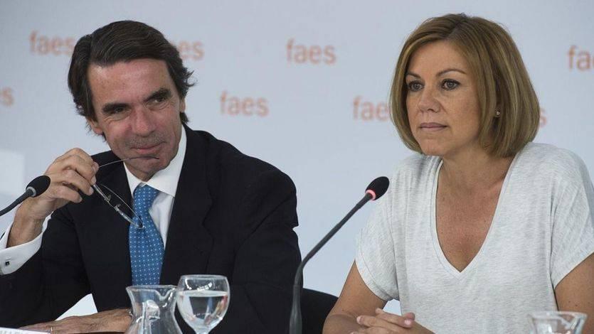 Cospedal pone en su sitio a Aznar: 'Cualquier militante de nuestro partido puede hacer las observaciones que crea conveniente'