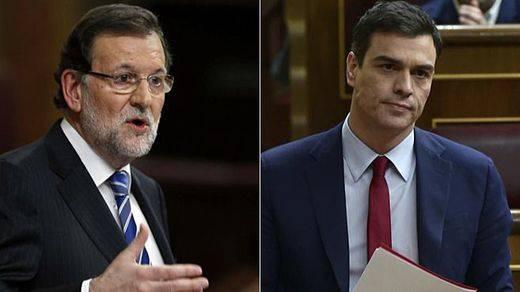 Sánchez y Rajoy apuran sus últimos cara a cara en un Congreso en tiempo de descuento