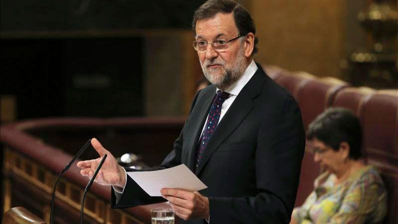 Rajoy expone en el Congreso su ¿fórmula? para resolver el lío catalán: 'diálogo', 'finura' y 'sin ansiedad'