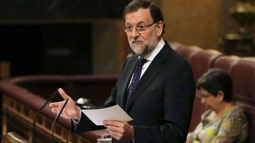 Rajoy expone en el Congreso su ¿fórmula? para resolver el lío catalán: