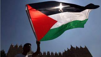 Gesto hist�rico: la bandera de Palestina ondea en la sede de la ONU