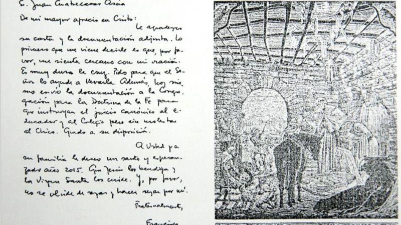 Francisco se sigue mojando contra la pederastia: pide juicio contra un profesor del Opus Dei