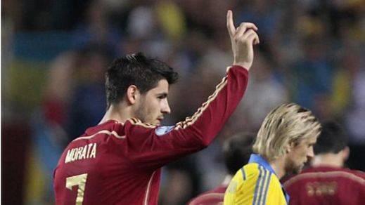 Morata, gran novedad de La Roja, a la que también vuelven Thiago, Bruno, Nolito e Íñigo