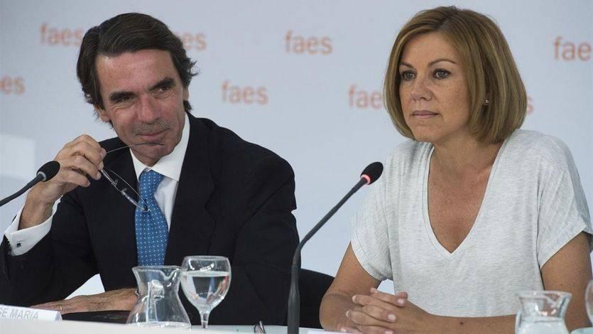 Aznar alerta de que el 'efecto Ciudadanos' en las catalanas puede perjudicar al PP