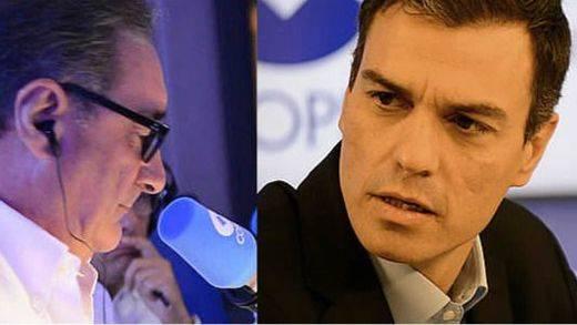 Pedro Sánchez reconoce que gobernaría con apoyos de Podemos o Ciudadanos, pero no