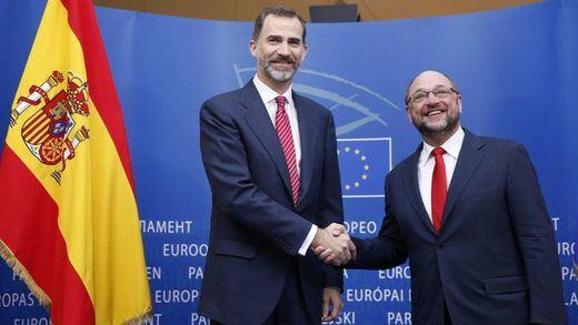 IU llama a 'boicotear' la segunda visita del Rey Felipe al Parlamento Europeo