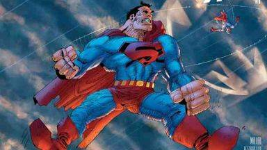 Un icono del cómic en apuros: Frank Miller cabrea a la red con su dibujo de Superman