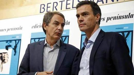 Pedro Sánchez aprovecha el apoyo de Zapatero para reprochar al PP el trato de Aznar a Rajoy:
