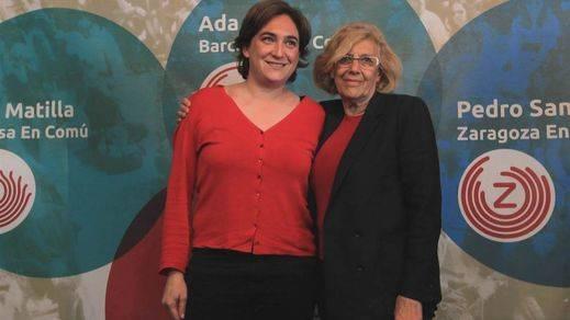 Los ciudadanos respaldan a los 'alcaldes del cambio': Carmena, Colau y Ribó superan el aprobado