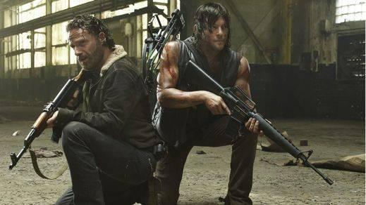 Regresan los zombies de 'The Walking Dead' después de seis meses de parón