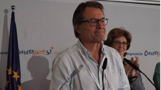 Artur Mas reclama su posición como número uno en la carrera a la Generalitat