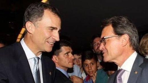 Artur Mas, que no acudió al desfile de Madrid, verá igualmente al Rey... en Barcelona