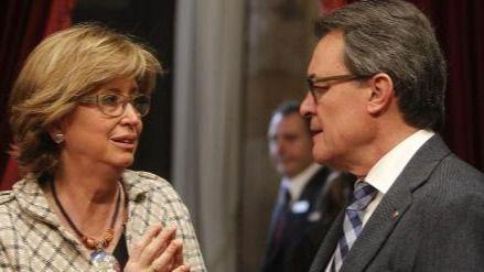 Rigau, imputada por el 9-N, asegura tener la conciencia tranquila por la consulta catalana